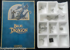1987 drag2 bleu dungeons & dragons GAMES WORKSHOP CITADEL WARHAMMER magicienne GW