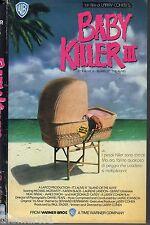 Baby Killer III (1987) VHS Warner Home  video -  Larry Cohen Karen Black