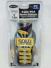Belkin Super VGA Gold Series Monitor Extension 6' 1.8m