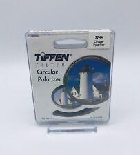 Tiffen 77mm Circular Polarizer Glass Filter #77CP - Brand New