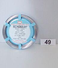 Draht KFO Prothesen Klammerdraht Dentaurum Remanium 0,5 mm Nr. 49
