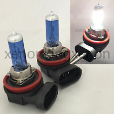 H11 55W White Xenon Halogen 5000K 12V Headlight 2x Lamp Bulbs #t4 For Fog Light