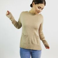 Joie Wool Cashmere Pocket Sweater Women's Size XS