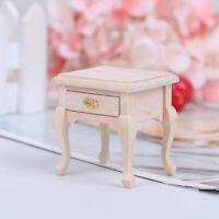 1:12 Dollhouse Mini Furniture Cabinet Bedside Cabinet Locker Doll House Decor YK