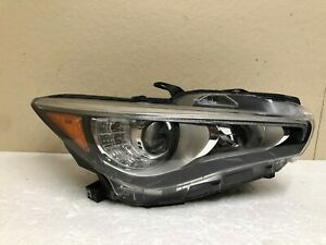 2014 2015 2016 2017 2018 2019 infiniti Q50 right LED headlight OEM *Nice!*