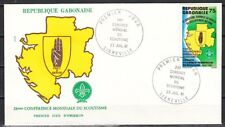 Gabon, Scott cat. 478. 2nd World Scout Conference o/print. First day cover.