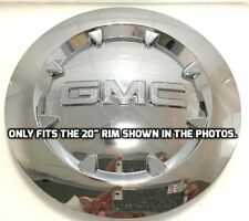 "Fits 20"" GMC 2007-2014 Sierra 1500 Yukon Denali XL Chrome Center Cap 9596381"