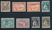 1898 - 1913 Macau VASCO DA GAMA OVERPRINTS, CERES STAMPS, ETC: CV $75