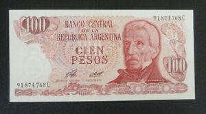 Argentina Banknote 1976-83 100 Pesos - Unc