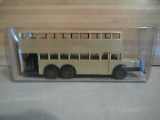 MIB Vintage Wiking Berliner Doppeldeck Bus D 38 Model in Box #24873 With Decals