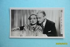 Conrad Nagel Gail Patrick #81 Sinclair Film Stars 2nd Series of Real Photos card