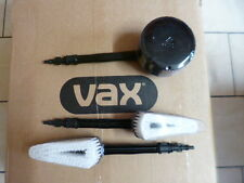 Vax Pressure Washer Brush Set - 1 Rotary & 2 Straight Car Brushes * Brand New *