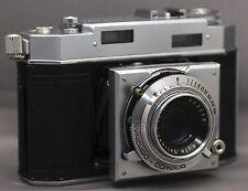 AGFA Karat 36 35mm GERMAN Vintage Film Camera COMPUR SOLINAR f/2.8 50mm Lens