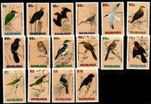 Bahamas stamps birds, complete set,  MNH