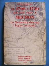 André Gardebois De 1700 à 1750 Ils ont Vécu à Meudon 1973 Hauts-de-Seine