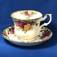 Royal Albert Cup and Saucer, Old Country Roses