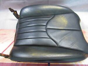 2000-2001-2002 JAGUAR S-TYPE PASSENGER RH Cover-Cushion UPPER BLACK SEAT 00 01