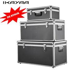 iKayaa 3er SET Alu Boxen Alubox Alukiste Transportbox Werkzeugkiste Lagerkiste