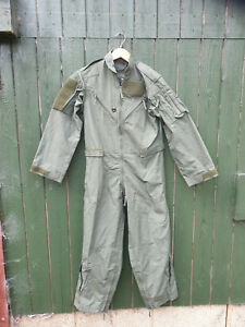 BRITISH AIRCREW / PILOTS SAGE FR COVERALL SIZE X SMALL - NEW