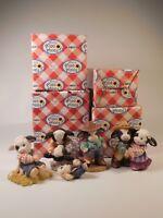 Mary's Moo Moos -  Lot of 4 figurines in box (N) 319392 484938 484881 109234
