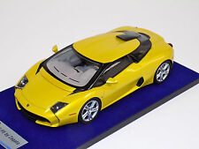 1/18 Looksmart MR Lamborghini 5-95 Zagato Metallic yellow Silver wheels
