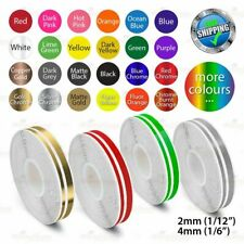 """12mm 1/2"""" PinStriping Double Pin Tape Car DIY Styling Line Decal Vinyl Stickers"""