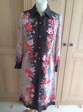Great dorian style vintage robe taille uk 10 portées bon état