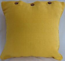 Cushion Cover Yellow Scatter Decorator Throw Sofa Couch Daybed Chair Decor 40x40