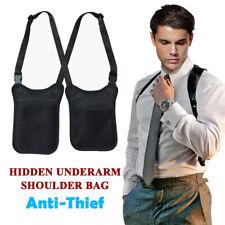 Anti Theft Hidden Underarm Shoulder Bag Men Secret Service Holster Armpit Pouch