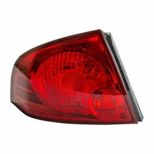 Tail Light Assembly Left TYC 11-6002-00 fits 04-06 Nissan Sentra