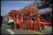Metal Sign 582030 Publicity Ladies For Team Mazda A4 12X8 Aluminium