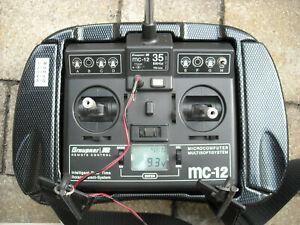MC12 von Graupner 35 MHz Anfängerset plus 3 extra Empfänger