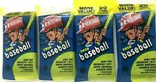 2020 TOPPS HERITAGE BASEBALL FAT PACKS ( 4 PACK LOT )