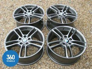 """Genuine BMW 261M 18"""" Alloy Wheels Gun Metal Grey F20 F21 F22 F23 F87 E81 E88 E87"""