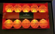 Basketball Lights 10 light string Novelty Lights Kurt Adler