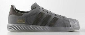 Adidas Originals SUPERSTAR BOUNCE GREY KIDS JUNIOR SHOES BZ0217