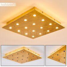 Plafonnier LED Lustre Métal Luminaire Lampe de bureau Lampe à suspension dorée