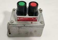 """CROUSE-HINDS EDS215  EXPLOSION PROOF ON/OFF PUSH BUTTON """"FREE SHIPPING"""""""