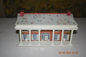 Vintage Marx Battle Blue & Gray #4760 Series 2000 Play Set Southern Mansion