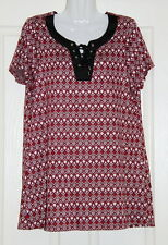 Womens size 14 long retro tunic style top made by CROSSROADS