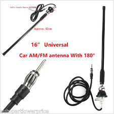 Universal Car Top Roof AM/FM Antenna Radio Aerial Amplified Mount Swivel Base