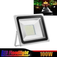 1 x100W LED Flood Light Cool White Garden Outdoor Security Flood Light Lamp 220V