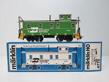 Caboose der Burlington Northern,USA Güterwagen,Märklin HO,4775,OVP,FH