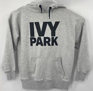 Ivy Park Beyoncé Womens Small Oversize Gray Pullover Sweatshirt Hoodie