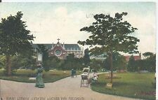 Postcard - Roman Catholic Cathedral & Victoria Park Portsmouth posted 1906
