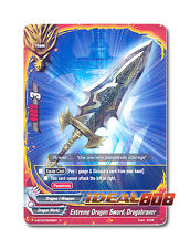 Buddyfight x 4 Extreme Dragon Sword, Dragobraver [H-BT03/0093EN C] English Mint