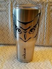 Decal/Sticker for Cooler Cup/Wine Glass  Owl Face