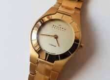 Skagen Black Label SKW2105 Women's Gold Tone Titanium Watch