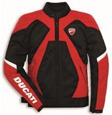 Ducati Original Stoff-Jacke Verano 2 Chaqueta de Moto Forcetech-Protektoren Dave
