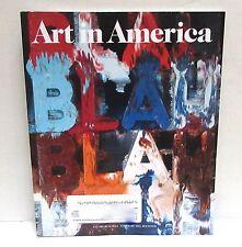 ART IN AMERICA March 2014 magazine Kelm Bochner Mclelland Richter